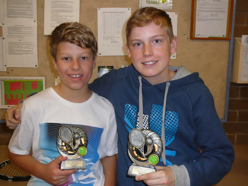 Boys Doubles Winners 2014