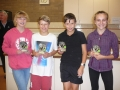 Mixed Doubles Winners and Runners up 2014